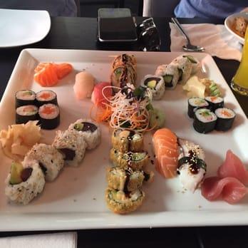 Der Haken auf Sushi