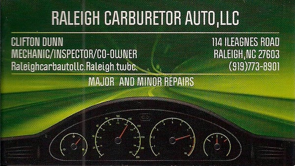 Raleigh car inspection / Columbus in usa