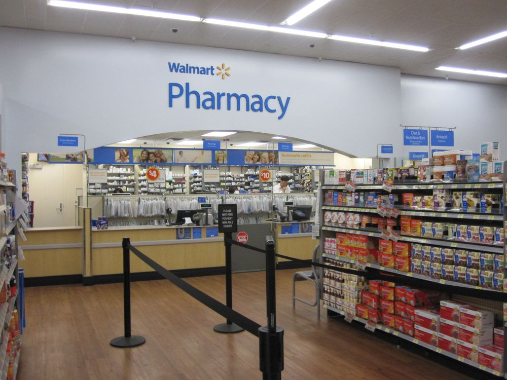 Walmart Pharmacy: 908 NC Hwy 53 E, Burgaw, NC