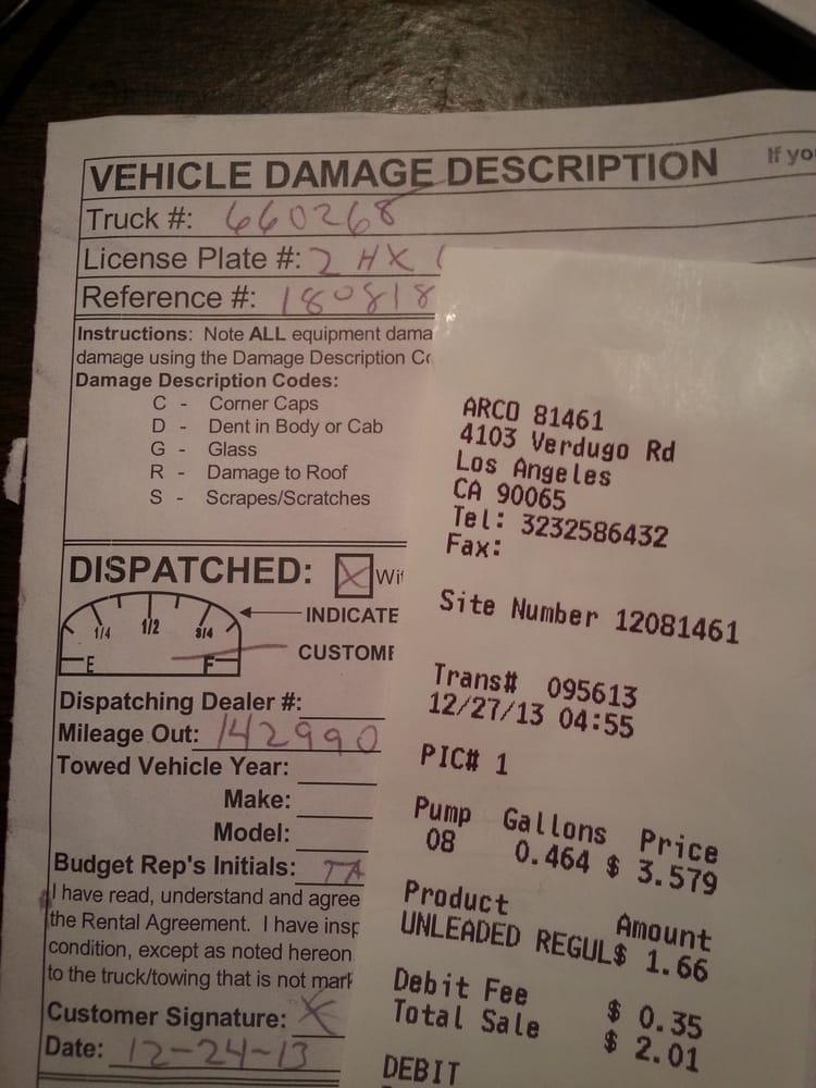 Budget Truck Rental 10 Reviews Truck Rental 4103 Verdugo Rd