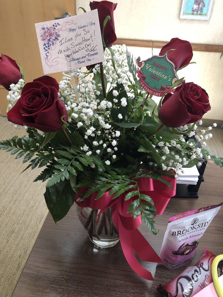 Always And Forever Florist,Inc: 704 Rockingham Square, Madison, NC