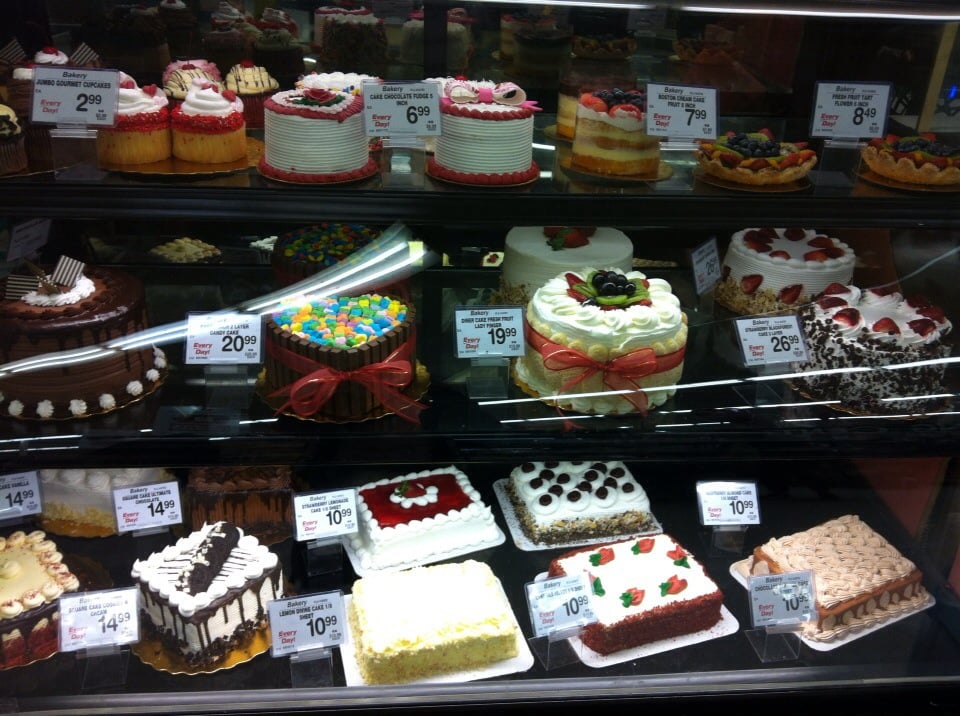 Photo Of Safeway San Francisco Ca United States An Assortment Cakes
