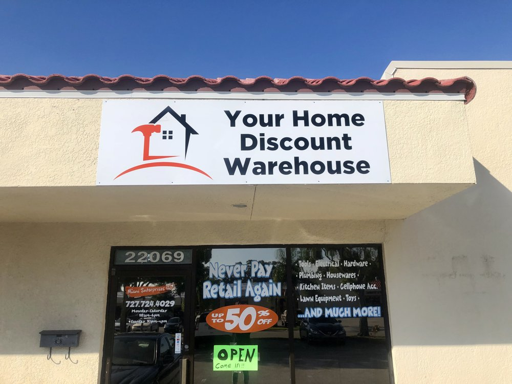 Your Home Discount Warehouse: 22069 US Hwy 19 N, Clearwater, FL