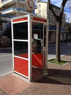 cabina telefonica 456 - mass media - viale g baccelli 95 ... - Cabina Telefonica