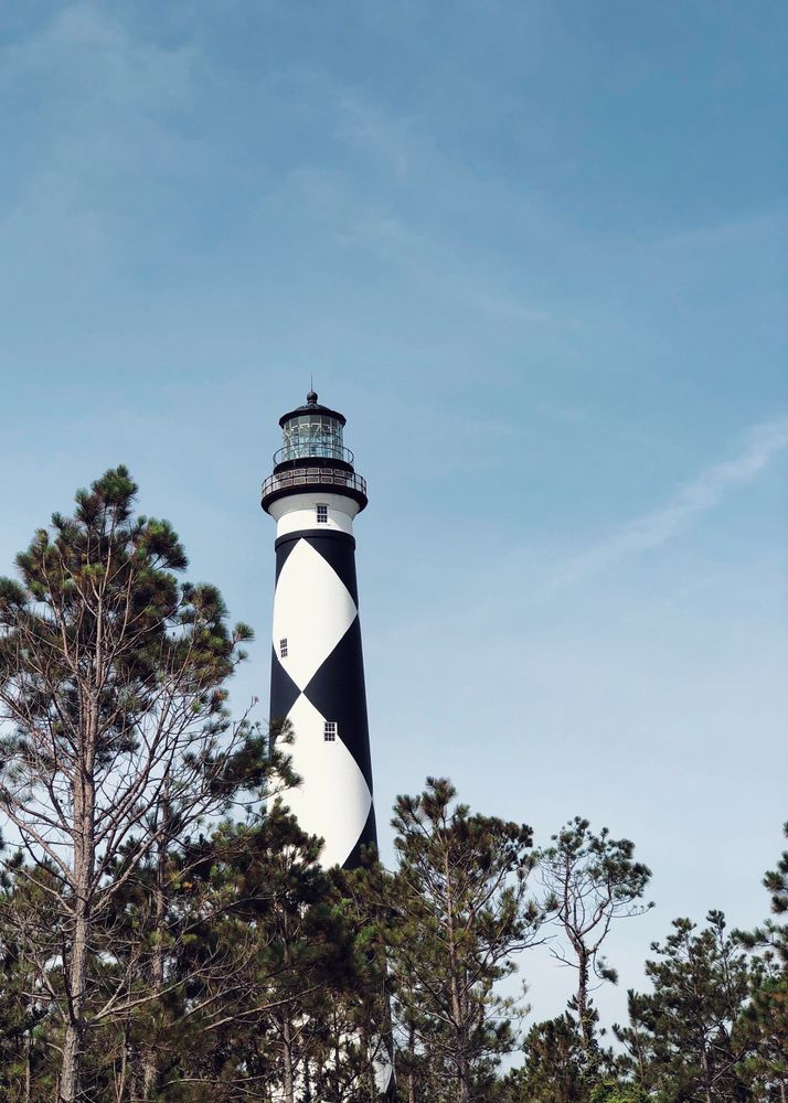 Cape Lookout Lighthouse: Cape Lookout Rd, Harkers Island, NC