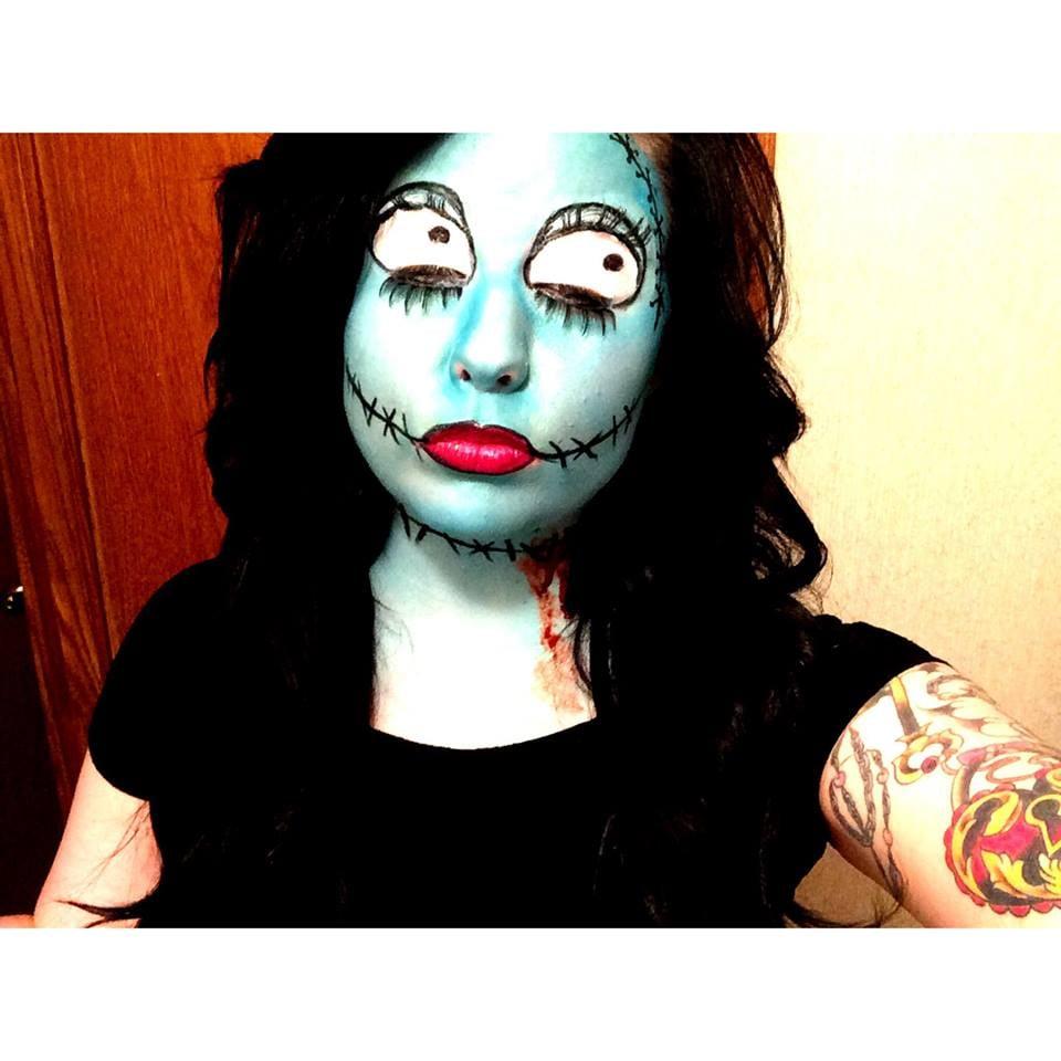 Nightmare Before Christmas Sally Makeup by Black Dahlia Beauty - Yelp