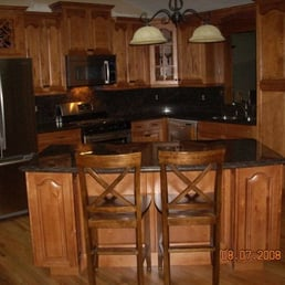 Photo of Panda Cabinet   Granite   Woodstock  GA  United States  Finished  KitchenPanda Cabinet   Granite   Kitchen   Bath   10010 Ga 92  Woodstock  . Panda Kitchen Bath Locations. Home Design Ideas