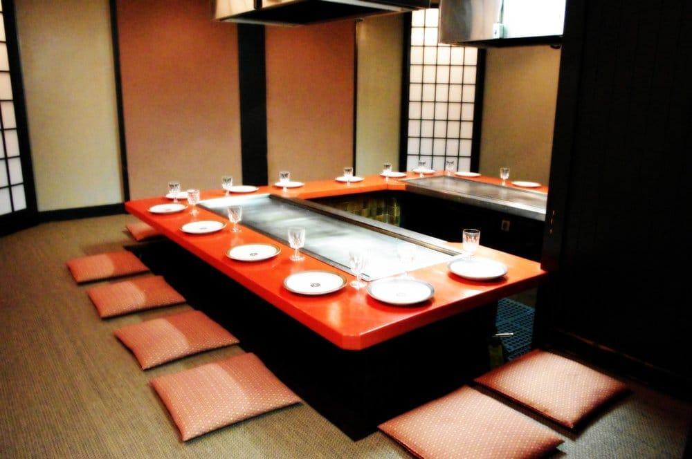 Japanese Tatami Room Restaurant