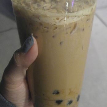 Photo of Tea Space Sunset Park - Las Vegas, NV, United States. House milk tea with boba.