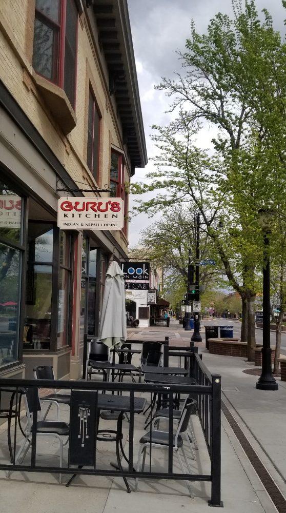 Guru's Kitchen: 356 Main St, Grand Junction, CO