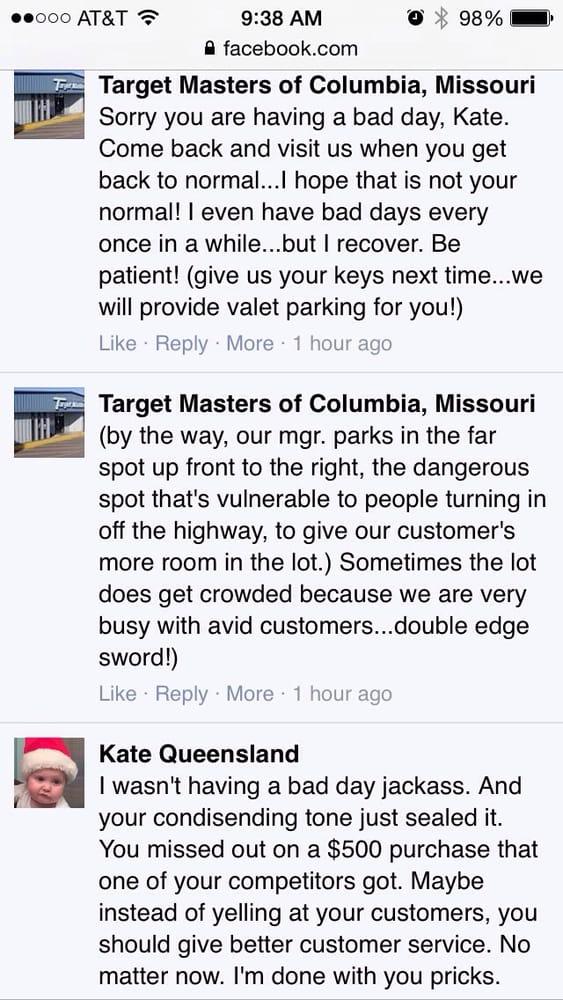 Target Masters: 4101 N Rangeline St, Columbia, MO