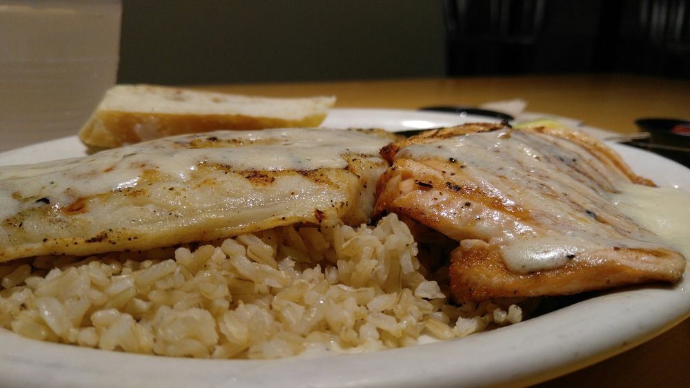 Salmon and swai combo yelp for California fish grill locations
