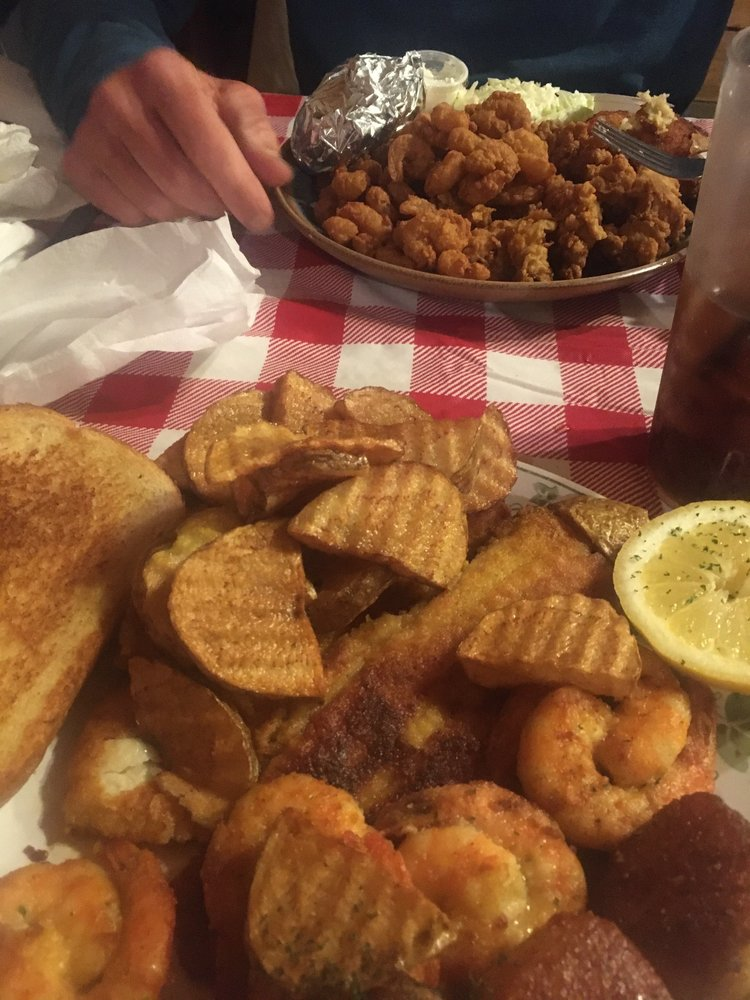 Food from Luvans Old South Fish Camp Restaurant