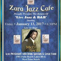 Zara Jazz Cafe West Palm Beach Fl
