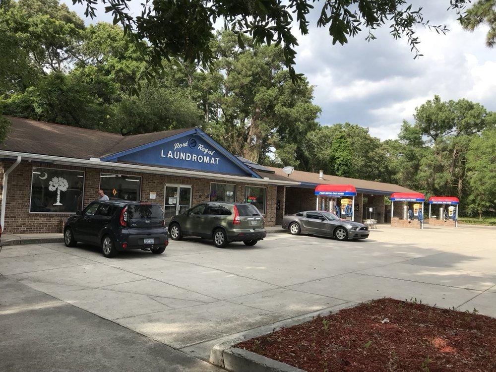 Port Royal Laundromat & Car Wash: 1800 Ribaut Rd, Port Royal, SC