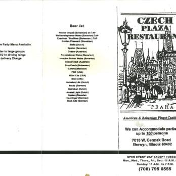 Czech Plaza Restaurant - Order Food Online - 87 Photos ...