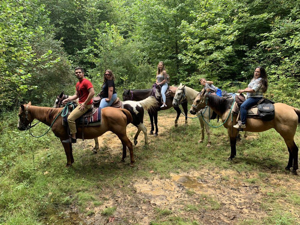 Horseshoe Creek Riding Stable: Hico, WV