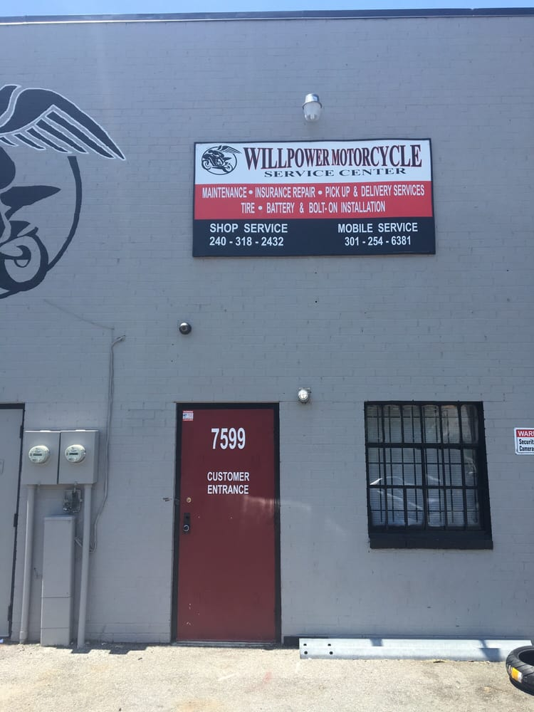 Willpower Motorcycle Service Center: 7599 Commerce Ln, Clinton, MD
