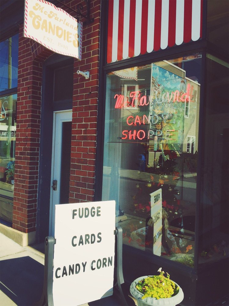 McFarland Candies: 22 S Broadway, Frostburg, MD