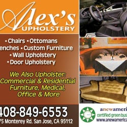Alex S Upholstery Furniture Reupholstery 1775 Monterey