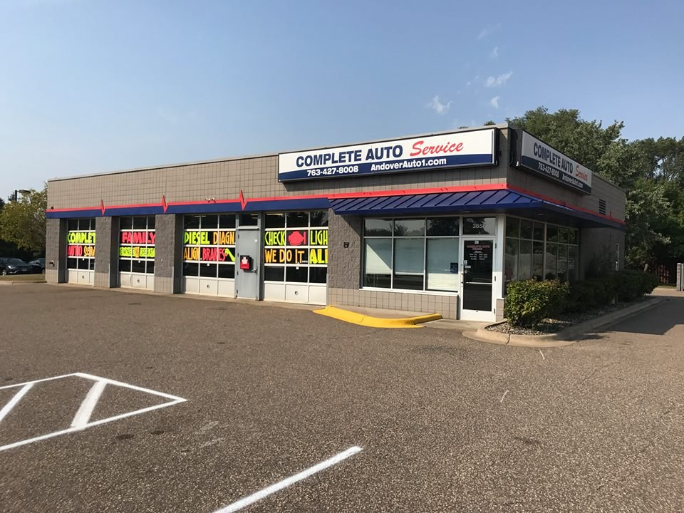 Complete Auto Service: 3657 Bunker Lake Blvd NW, Andover, MN