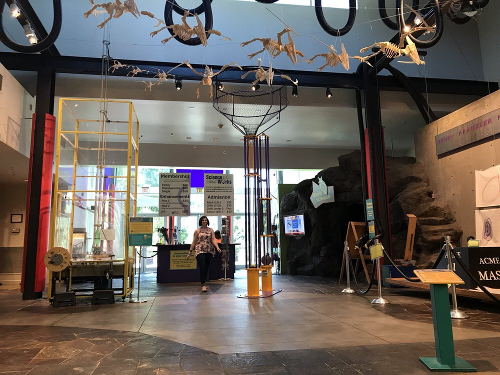 Scienceworks Hands-On Museum: 1500 E Main St, Ashland, OR