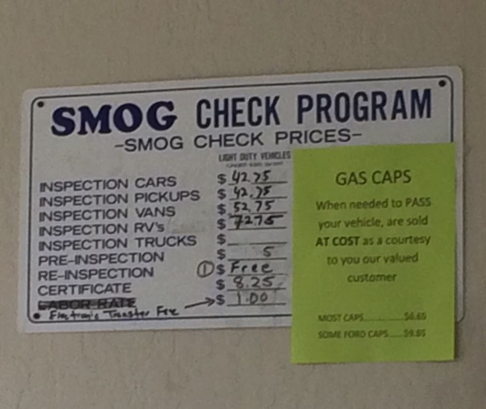 South county smog test center 34 reviews smog check stations south county smog test center 34 reviews smog check stations 8870 forest st gilroy ca phone number yelp xflitez Gallery