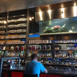 Happy Hour has put Blue on the map, offering value and variety without sacrificing quality or experience. Blue's vibrant scene offers a dining experience full of creative flavor .