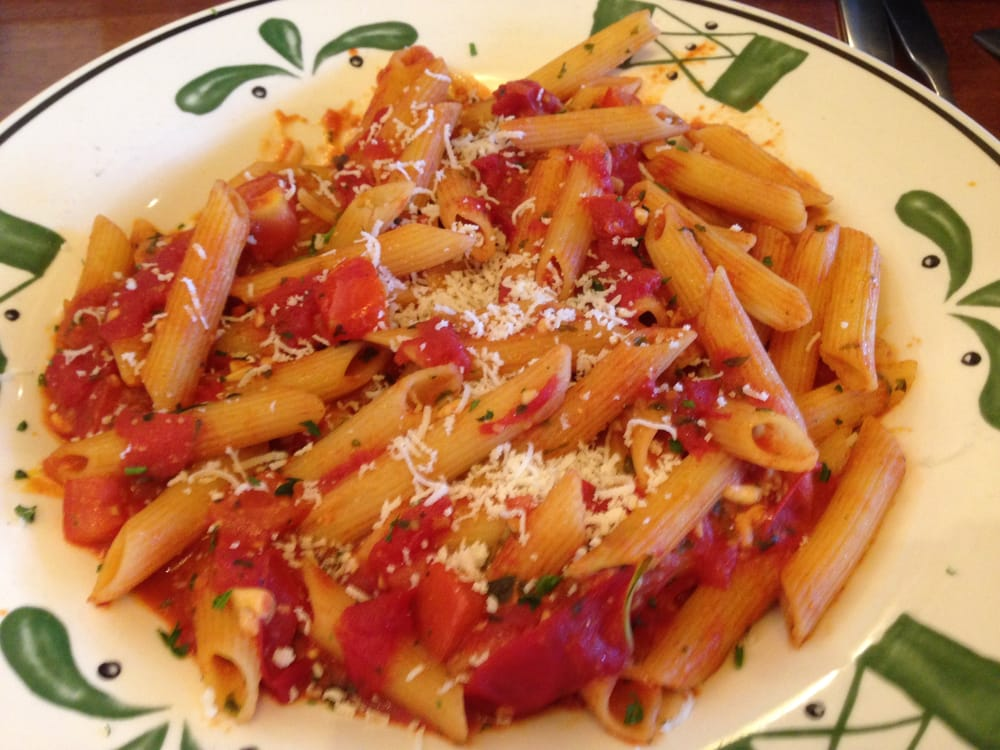 United States. Penne with Basil Garlic Marinara: Freshly made marinara ...
