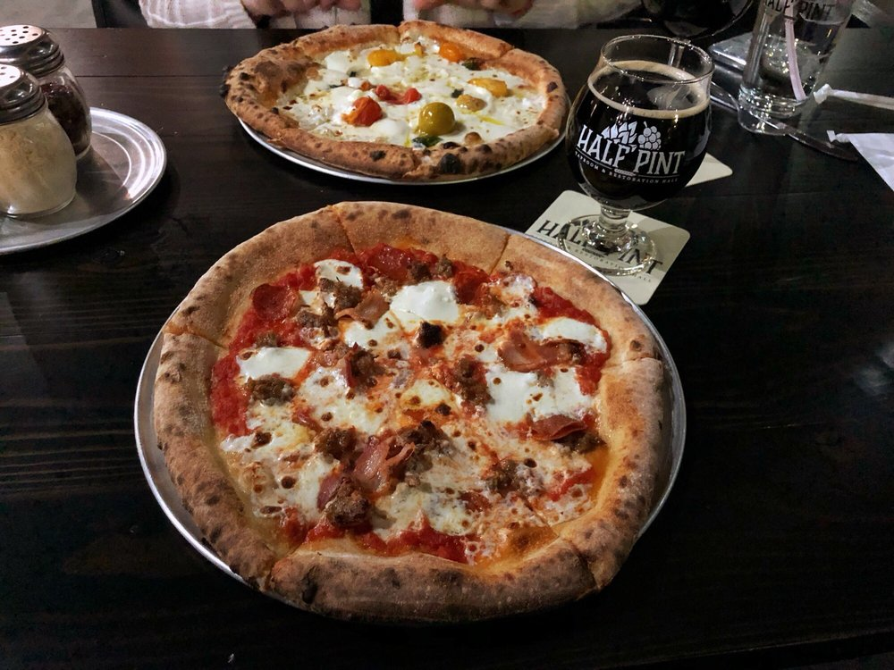 Food from Half Pint Taproom