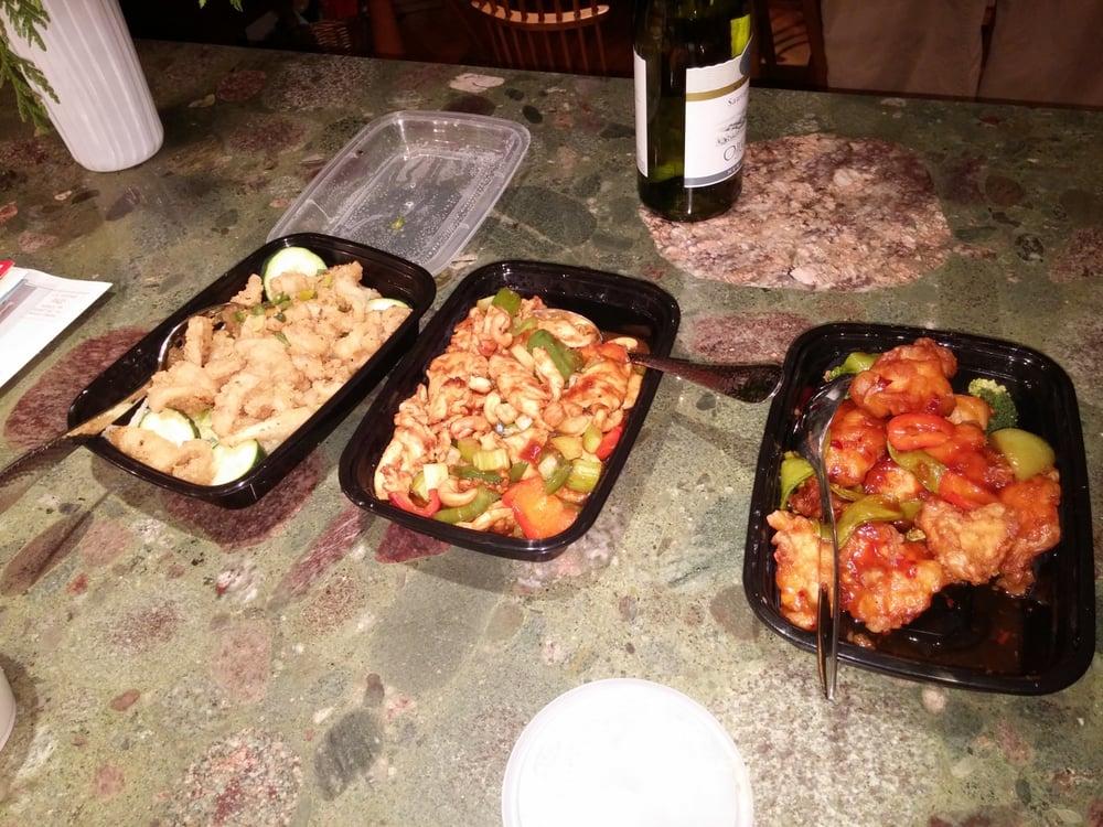 Salt and pepper calamari cashew chicken general gao 39 s for Asian cuisine sudbury