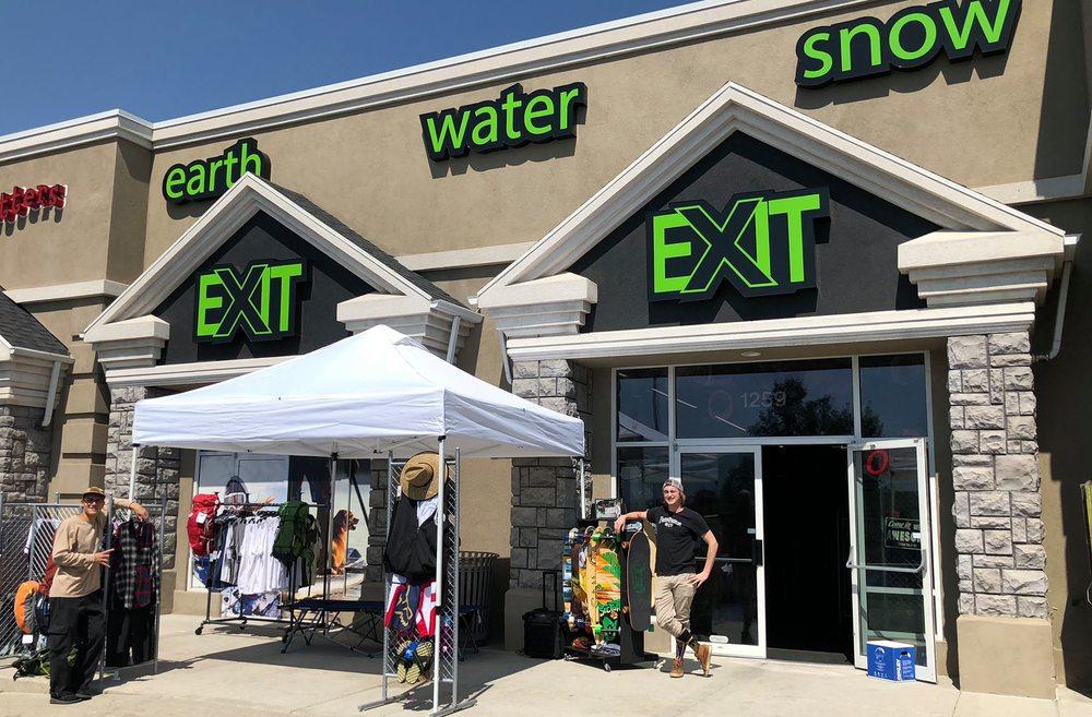 Exit Outdoors: 1259 E Draper Pkwy, Draper, UT