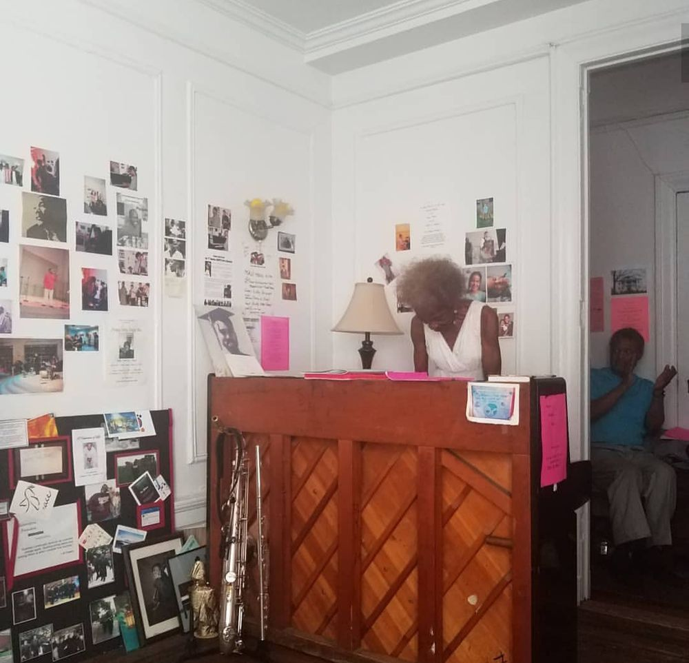 Jazz at Marjorie Eliot's