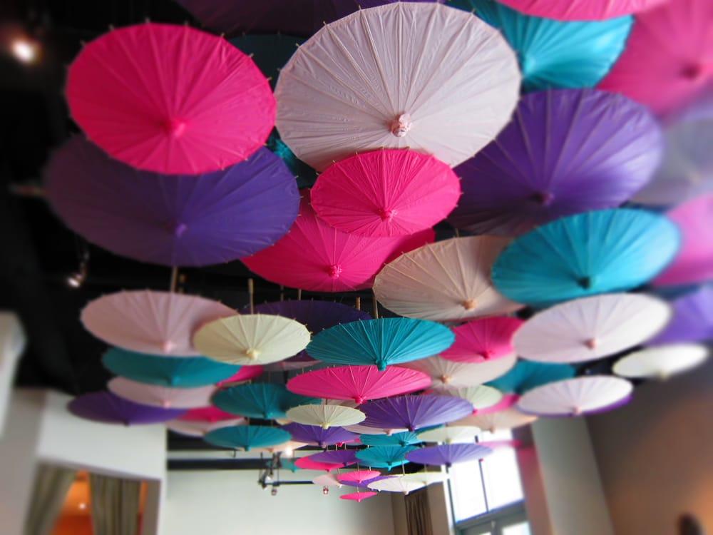 Umbrella ceiling in the Bridesmaid boutique - Yelp