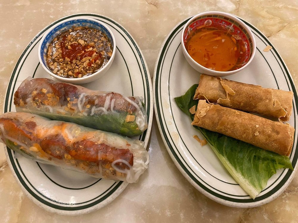 Food from Van's Cafe