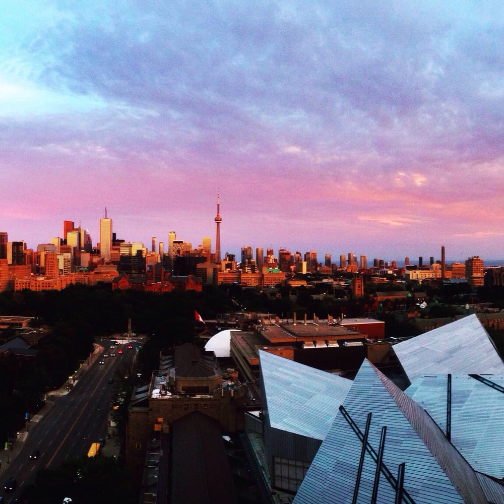 Stunning View From Park Hyatt S Rooftop Lounge In