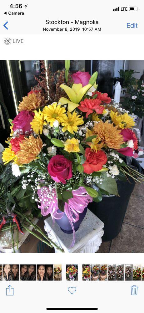 ISABELLA'S FLOWER & GIFT SHOP: 445 E Harding Way, Stockton, CA