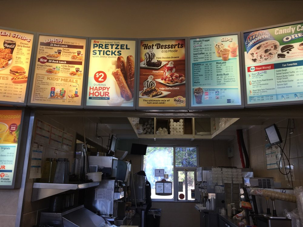 Dairy Queen Grill & Chill: 113 W Cleveland St, Nahunta, GA