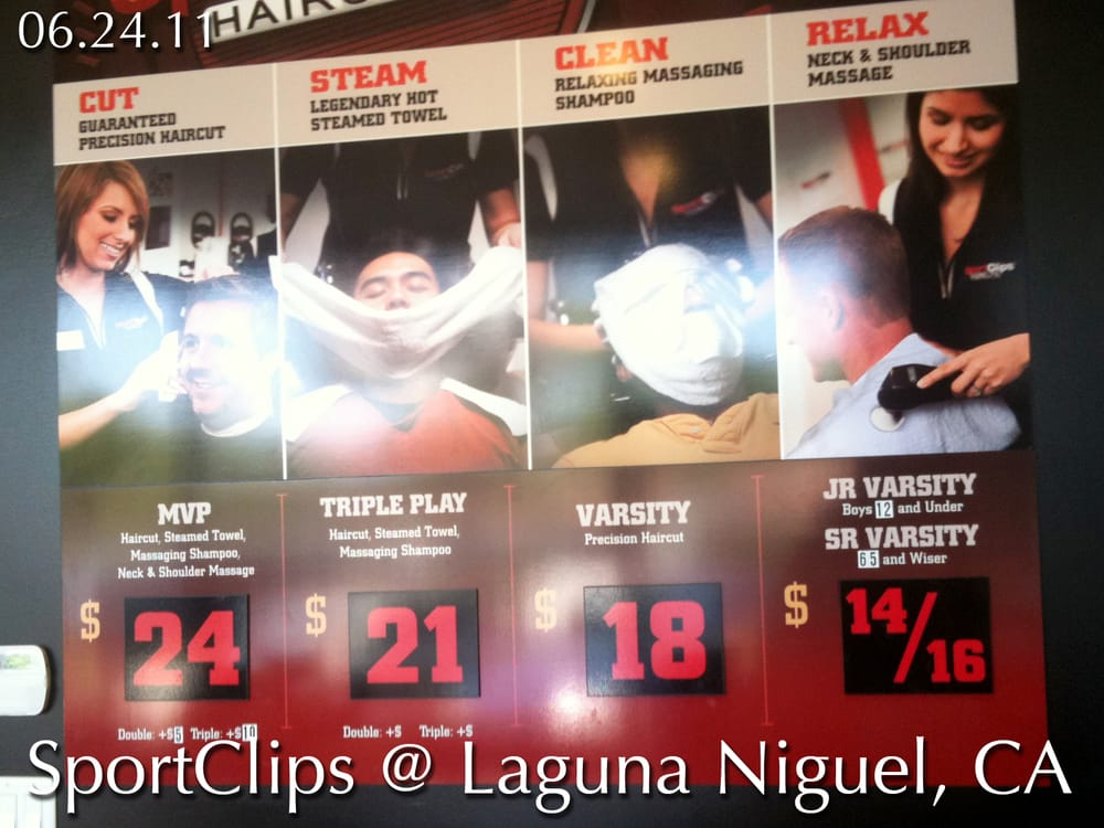 how much is a sports clip haircut sportclips pricing yelp 5519 | o
