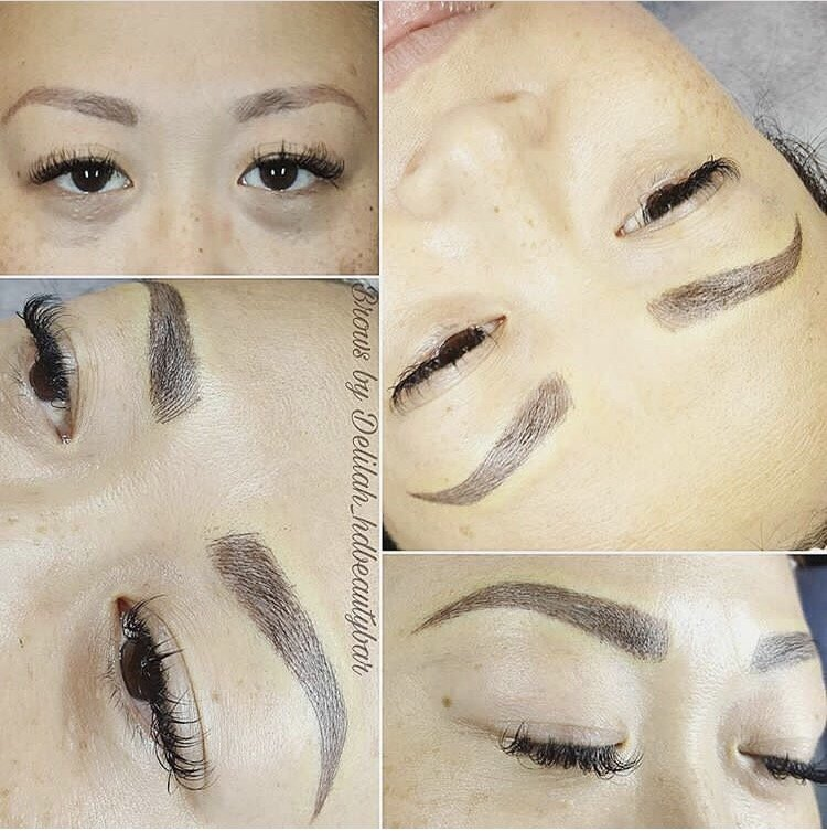 My Jagged Eyebrows Before And Perfect Brows After Yelp