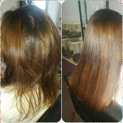 Lizs hair extensions salon blow dryout services 4010 28th photo of lizs hair extensions salon astoria ny united states before pmusecretfo Image collections