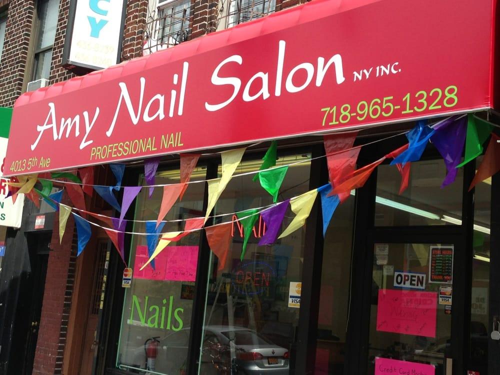 Amy nails salon professional nail care manicura y for 5th ave nail salon