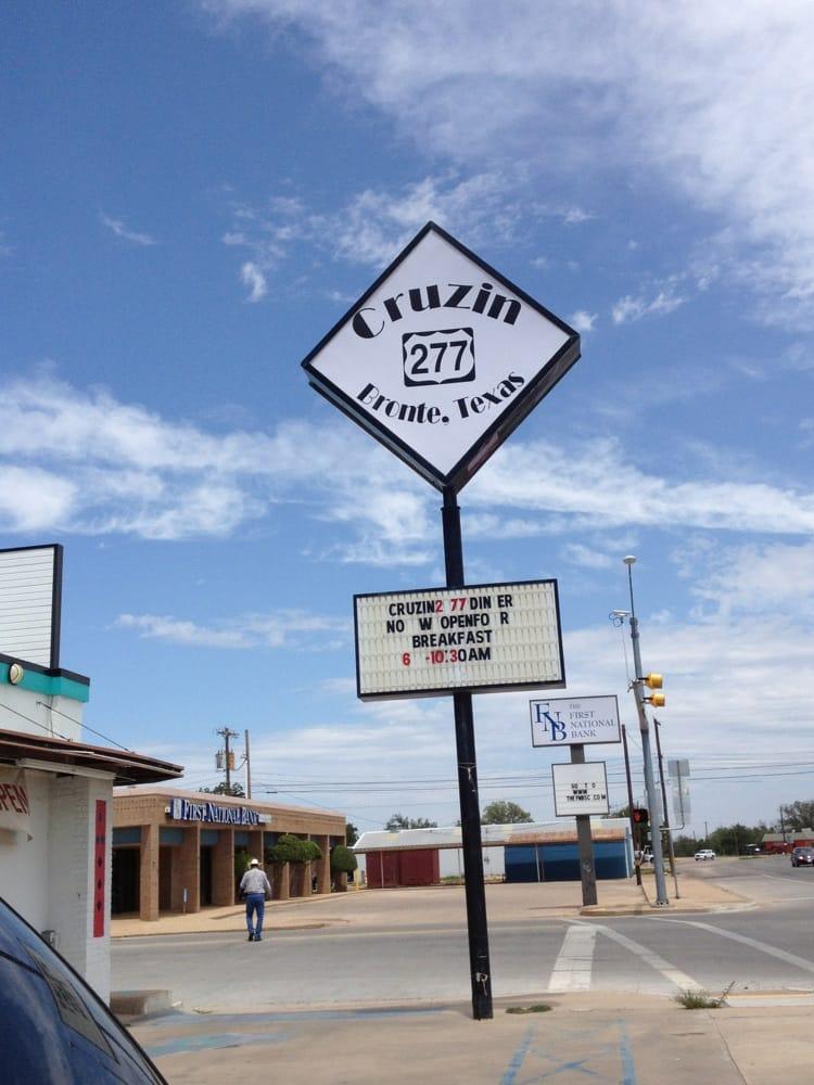 Addona's Restaurant: 103 W Main St, Bronte, TX