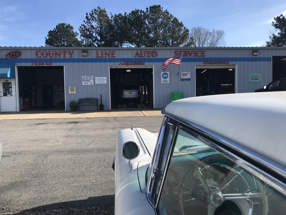 County Line Auto Service: 500 US 1 Hwy, Youngsville, NC