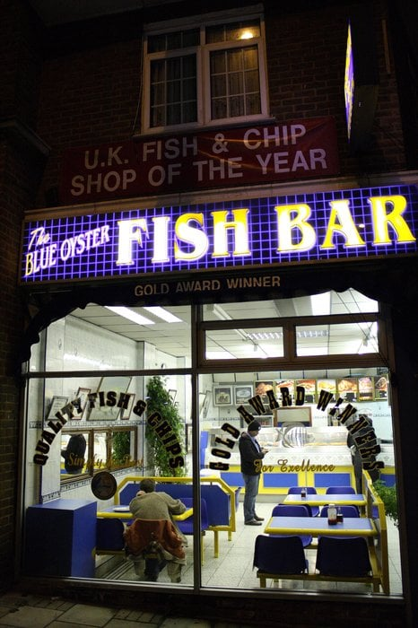 The Blue Oyster Fish Bar Fish Chips 190 Preston Road