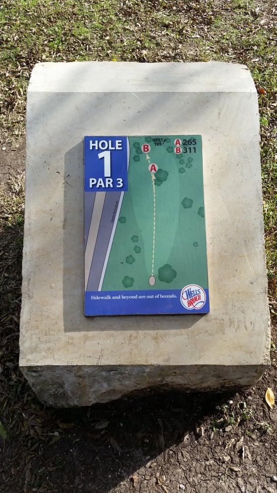 Wells Branch Disc Golf Course
