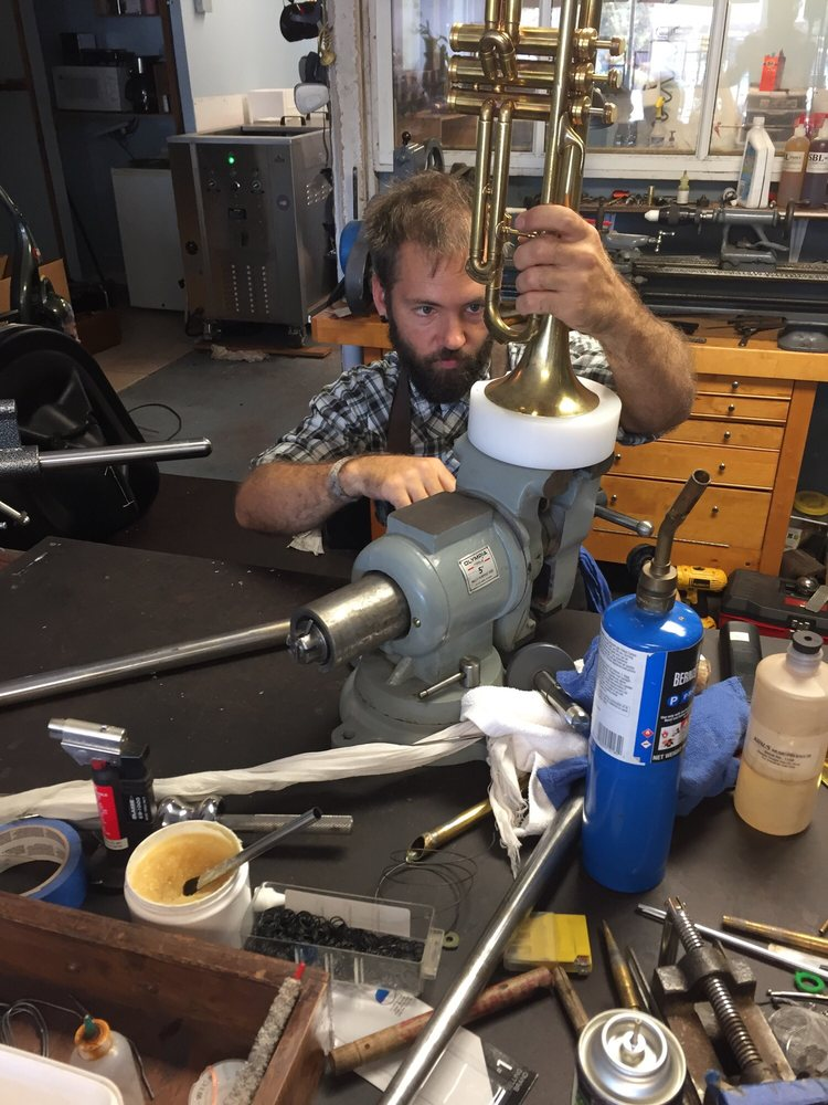 Wind & Brass Instrument Repair: 1315 San Pablo Ave, Berkeley, CA