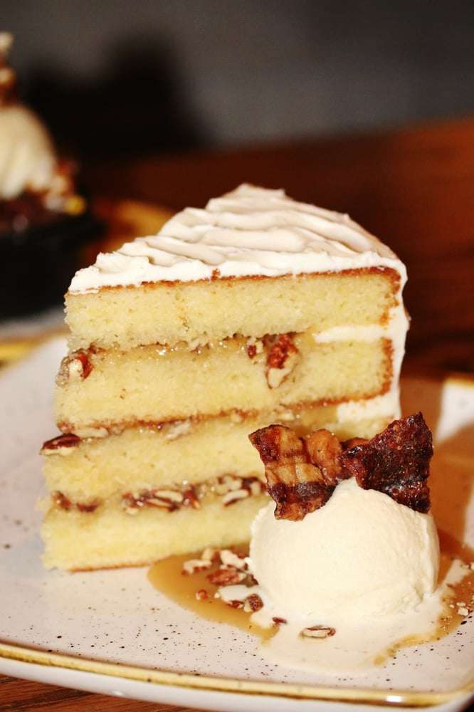 Bacon flavored cake recipe