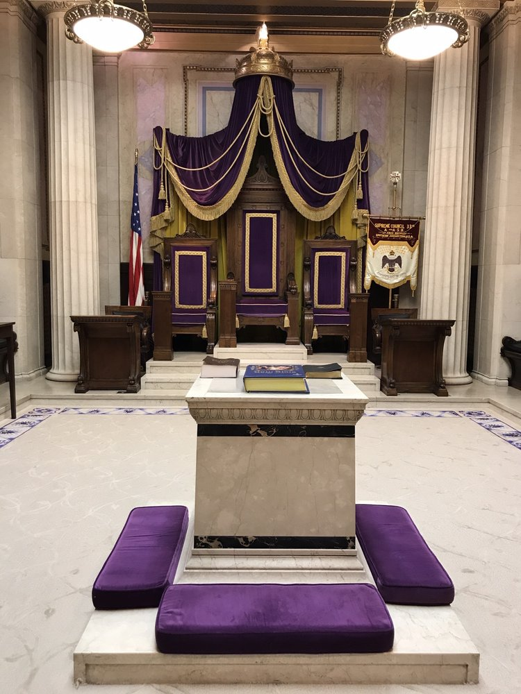 Scottish Rite of Freemasonry: 1733 16th St NW, Washington, DC, DC