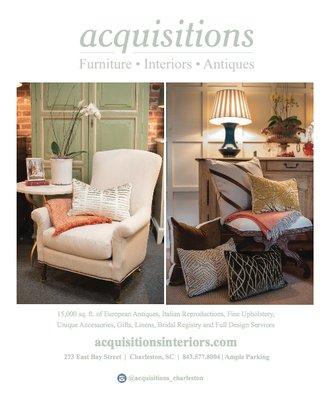 Acquisitions 273 E Bay St Charleston, SC Interior Decorators Design U0026  Consultants   MapQuest